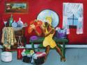 Hattie's Delight 500 Piece Jigsaw Puzzle Annie Lee Sunsout
