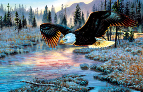 Eagle Dawn 1000 Piece Jigsaw Puzzle Cynthie Fisher Sunsout