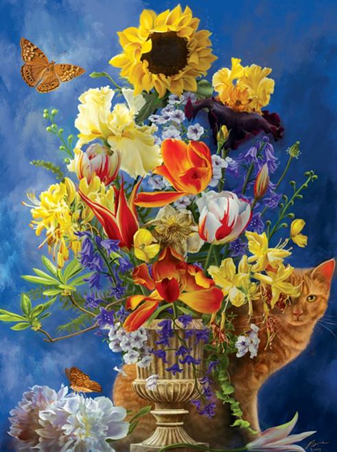 Garden of Gold 1000 Piece Jigsaw Puzzle Nene Thomas Sunsout