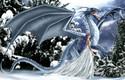 Ice Dragon 1000 Piece Jigsaw Puzzle Nene Thomas Sunsout