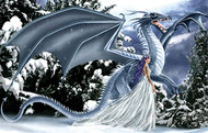 Ice Dragon 1000 Piece Jigsaw Puzzle Nene Thomas Sunsout
