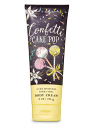 Confetti Cake Pop Ultra Shea Body Cream Bath & Body Works 8oz