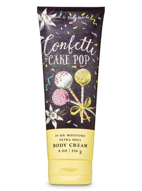 Confetti Cake Pop Ultra Shea Body Cream Bath & Body Works 8oz