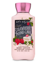 Strawberry Pound Cake Super Smoothing Body Lotion Bath & Body Works 8oz
