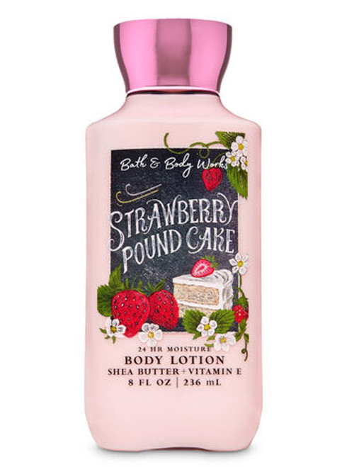 Strawberry Pound Cake Super Smoothing Body Lotion Bath & Body Works 8oz