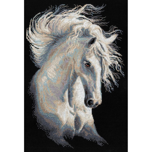 Andalusian Character Counted Cross Stitch Kit Riolis