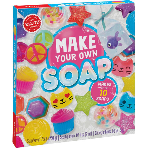 Make Your Own Soap Craft Activity Kit Klutz