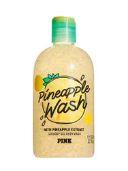 Pineapple Extract Wash Scrubby Gel Body Wash PINK Victoria's Secret 12oz