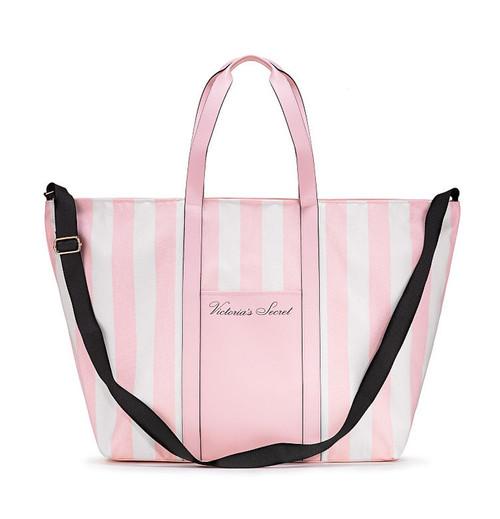 Pink White Striped Weekender Bag Victoria's Secret
