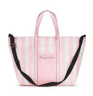 Pink White Striped Weekender Bag Victoria's Secret
