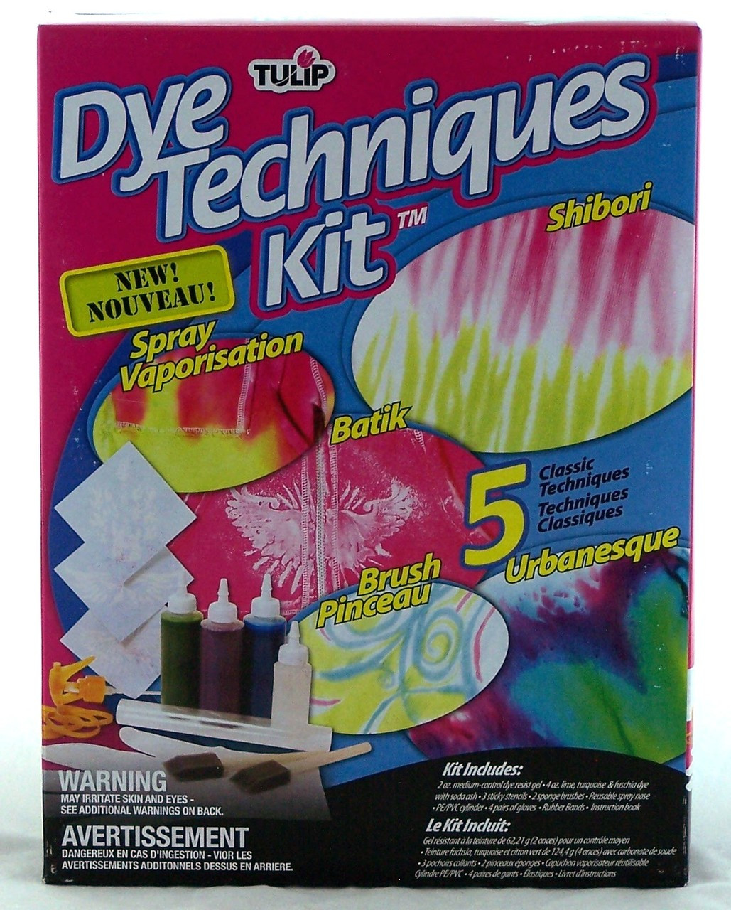 Tie Dye Techniques Fashion Kit Tulip Archway Variety