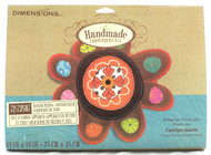 Handmade Stuffed Embroidery Kit-Flower Pillow-Buy Now!