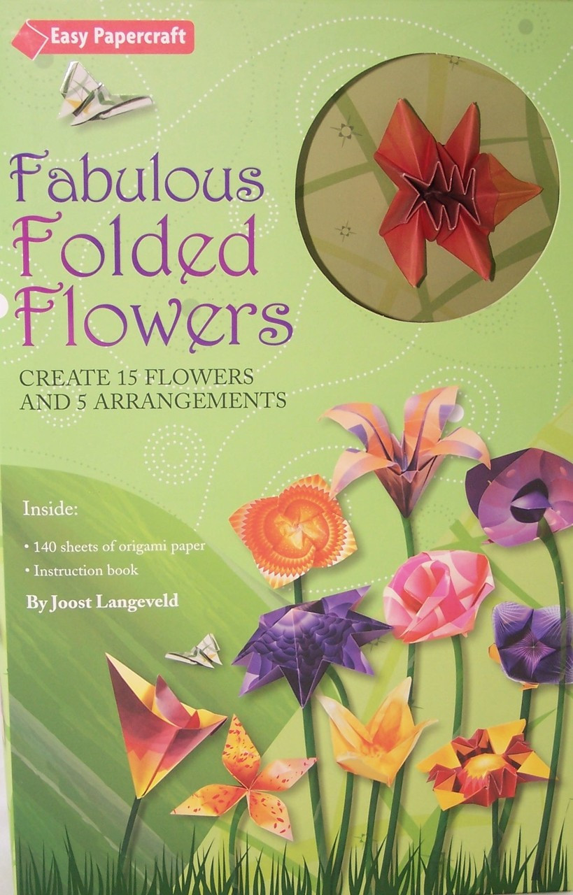 Fabulous Folded Flowers Origami Kit Archway Variety
