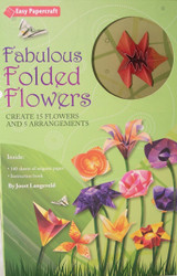 Fabulous Folded Flowers Origami Kit-Buy Now!