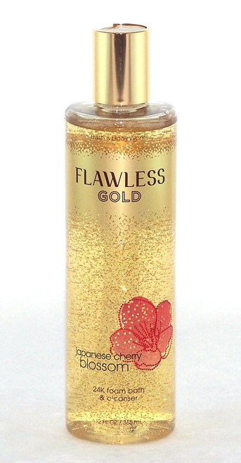 Japanese Cherry Blossom 24K Flawless Gold Foam Bath-Buy here now!
