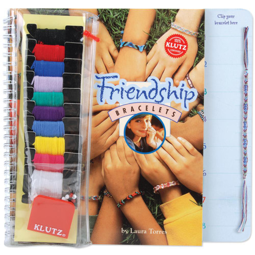 Friendship Bracelet Craft Activity Kit- Click here for craft and jewelry kits