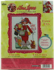 Fabric Diva Alma Lynne Cross Stitch Kit Bucilla-Buy Now!