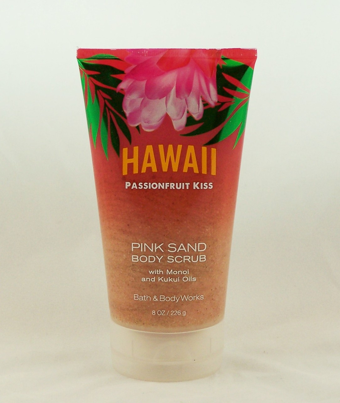 Hawaii Passionfruit Kiss Pink Sand Body Scrub Bath And Body Works 8oz