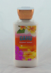 Escape to the tropics! Buy Oahu Coconut Sunset Body Lotion now!