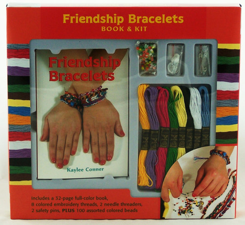 Click here now to buy this Friendship Bracelet Craft and Activity Kit!