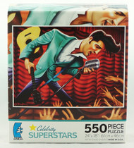 Shop now for Elvis Celebrity Superstar 550 Piece Jigsaw Puzzle
