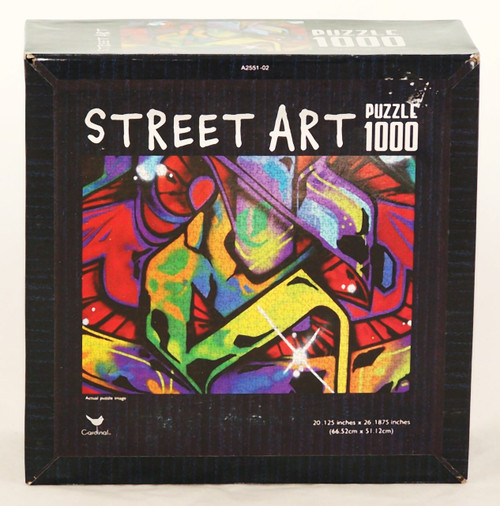 Buy this Graffiti Street Art 1000 piece jigsaw puzzle now