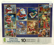 Hurry! Shop now for this Jumbo Jigsaw Puzzle Collection! Holiday, Christmas, Santa Claus puzzles