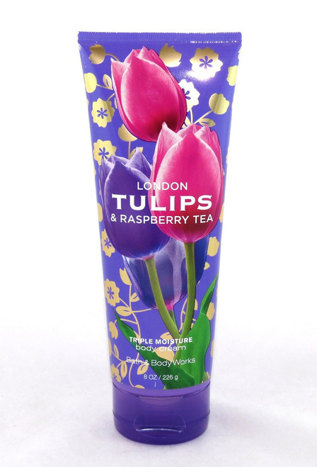 Shop here now for London Tulips Raspbbery Tea Body Cream Bath and Body Works