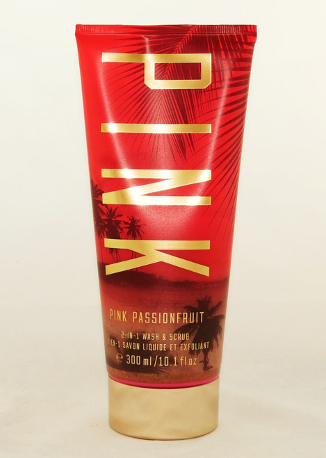BUY Pink Passion fruit 2-in-1 Victoria's Secret PINK Body Scrub Wash