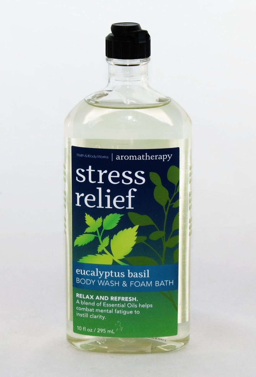 Eucalyptus Basil Stress Relief Foam Bath Body Wash Archway Variety