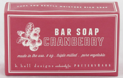 Shop at Archway Variety for Cranberry Soap All Natural from K. Hall Design