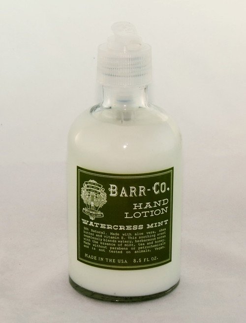 Shop at Archway Variety for Watercress Mint Hand Lotion All Natural Barr-Co