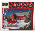 Shop here for Alan Giana Christmas 1000 piece Jigsaw Puzzle Night to Remember