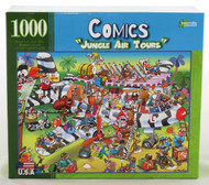 Click here to buy Comics Jungle Air Tours 1000 piece Jigsaw Puzzle from Archway Variety