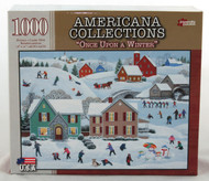 Buy Once Upon a Winter 1000 piece Jigsaw Puzzle Americana Collection Christmas