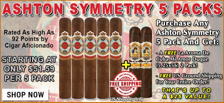 Ashton Symmetry Cigar Review