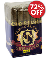 Serrano Sumatra Toro (6x50 / Bundle 25) + 72% OFF CLEARANCE!