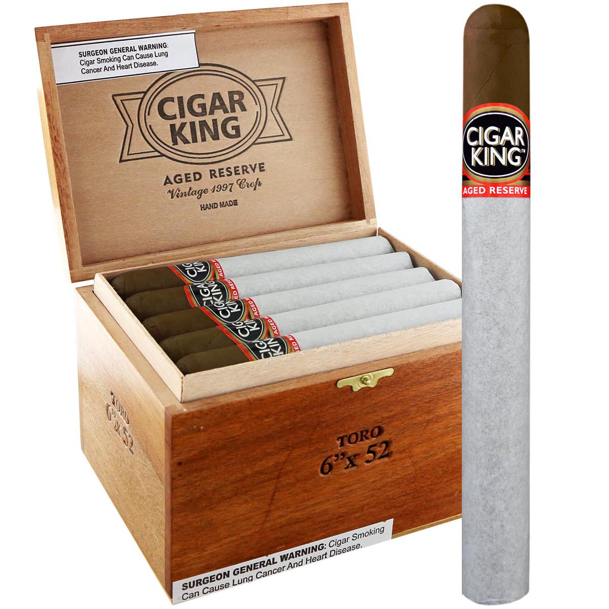 Cigar King Aged Reserve Maduro Churchill (7x50 / Box 25)