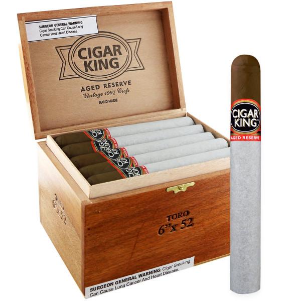 Cigar King Aged Reserve Maduro Corona (5.5x46 / Box 25)