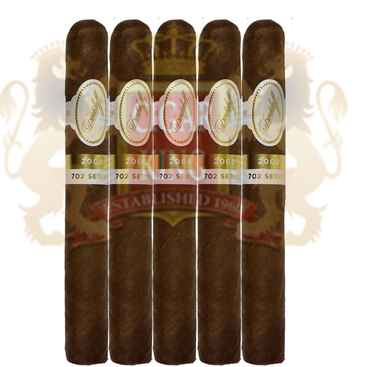 Davidoff 702 Series Signature 2000 (5 1/16x43 / 5 Pack Sleeve)
