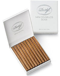 Davidoff Mini Cigarillo Silver (3.5x20 / Pack of 20)