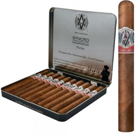 Avo Syncro Nicaragua Puritos (4x30 / Tin 10)