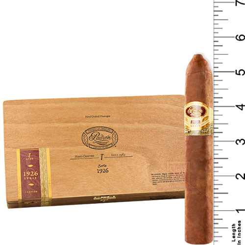 Padron Serie 1926 No. 2 Belicoso Natural (5.5x52 / Single)