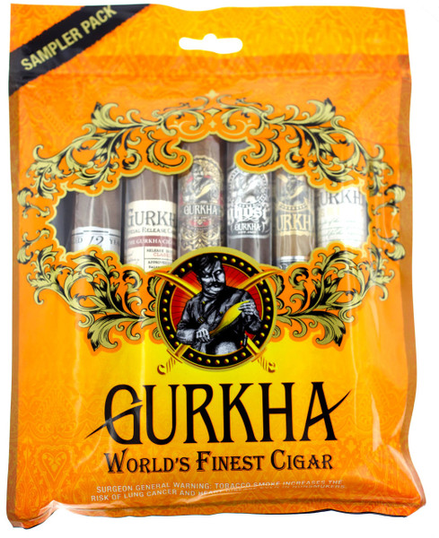 Gurkha Gold Pack 6 cigar sampler