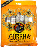 Gurkha Gold Pack 6 cigar sampler