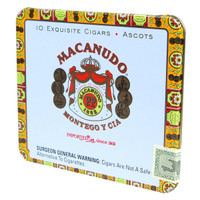 Macanudo Ascot Cafe (4.2x32 / 1 Tin of 10)