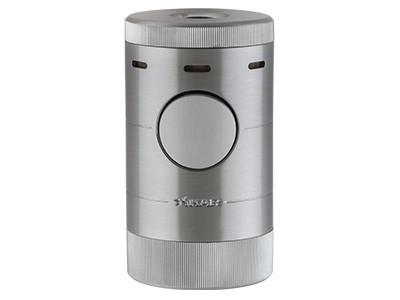XiKar Volta Tabletop Quad Lighter Silver