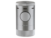 XiKar Volta Tabletop Quad Lighter Silver