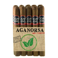 Cigar King Aganorsa Leaf Box Press #3 Corojo 99 Toro Petite Box Press (6.25x52 / 10 Pack) + FREE SHIPPING!