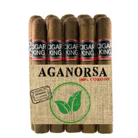 Cigar King Aganorsa Leaf #4 Corojo 99 Toro Box Press (6x54 / 10 Pack) + FREE SHIPPING!